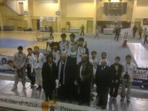 podium équipes cabriès