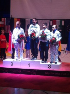 podium julie pauline Bochum