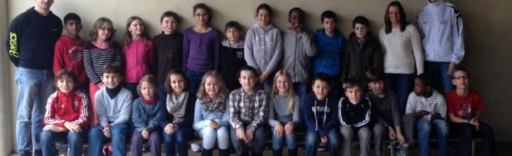 Rencontre avec les élèves de l'école Sisley de la Rochette