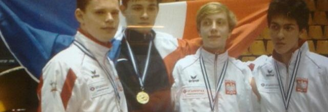 Enguérand ROGER, champion d'Europe ! médaillé d'argent par équipes