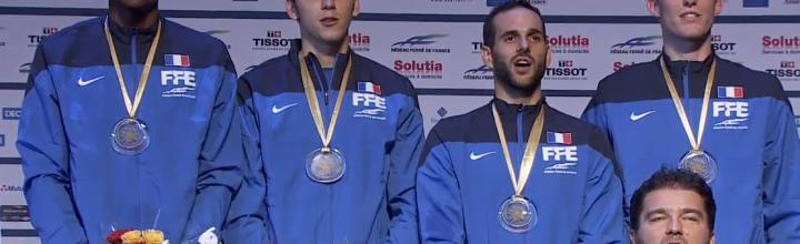 Championnats d'Europe -Lefort en or par équipes, Joppich en bronze