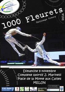 1000 fleurets 2014