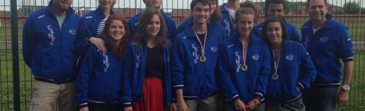 Argent et bronze pour le CEMVS aux championnats de France junior