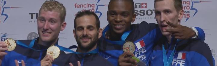 3 médailles aux championnats d'Europe pour le CEMVS !