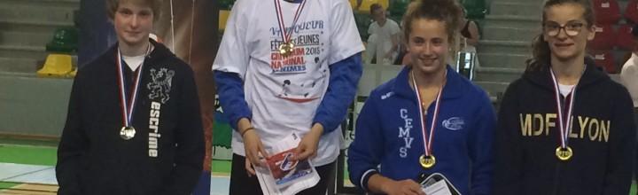 4 médailles à la Fête des Jeunes pour les minimes !