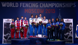 podium FFE Moscou
