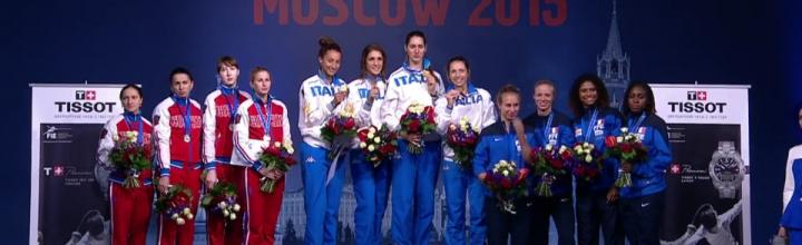 Pauline RANVIER en bronze aux championnats du Monde !
