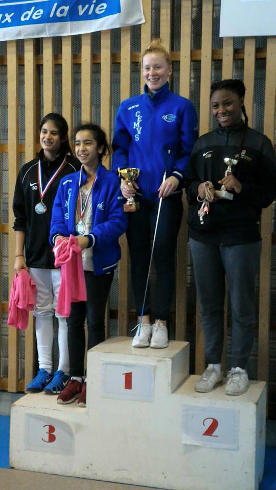podium minimes dames cesson
