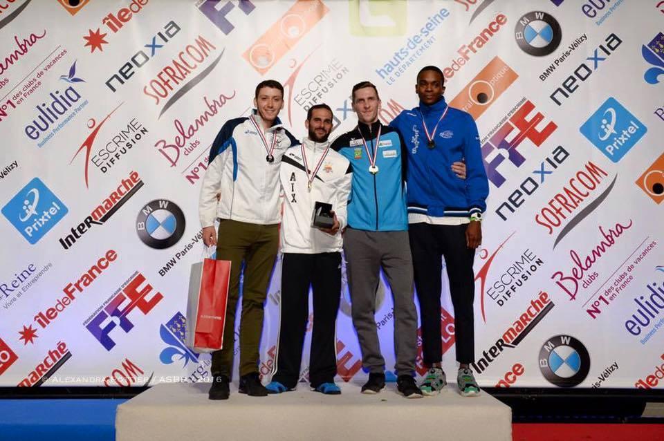 podium FHS 2016 france