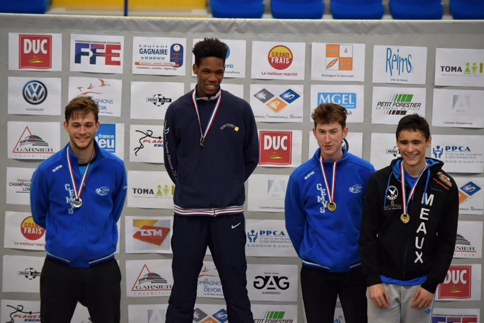 podium FHJ France 2016