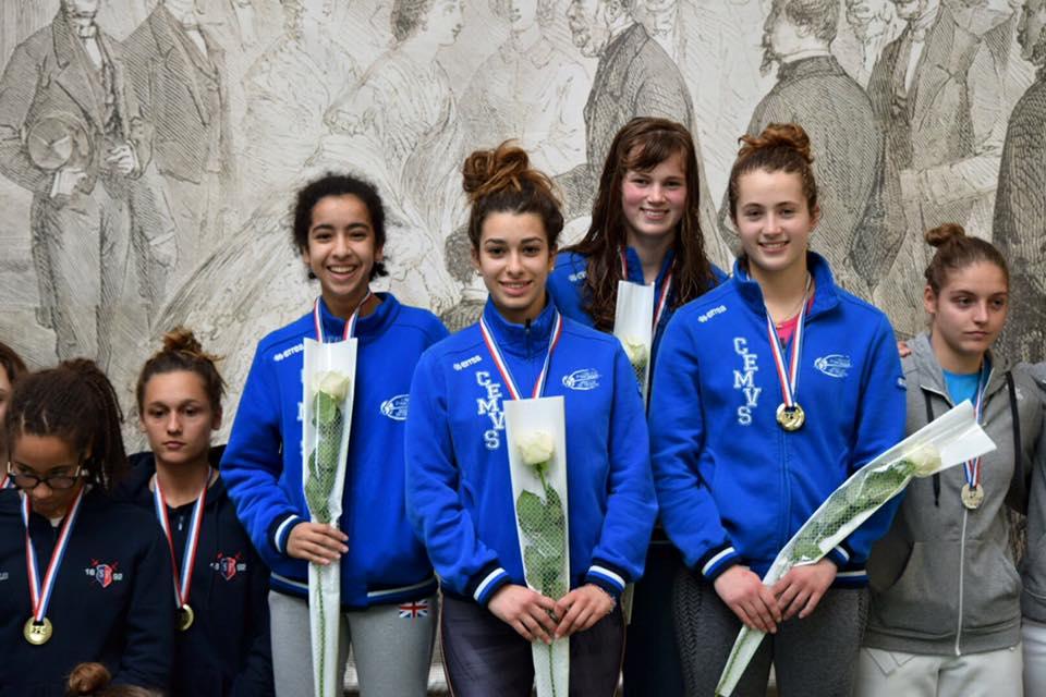 Cadettes championnes de France